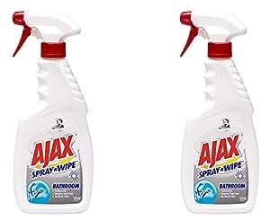 Ajax Spray n Wipe Spray'N'Wipe Kitchen Cleaning, Baking Soda,500ml … (Bathroom, 2 Pack)