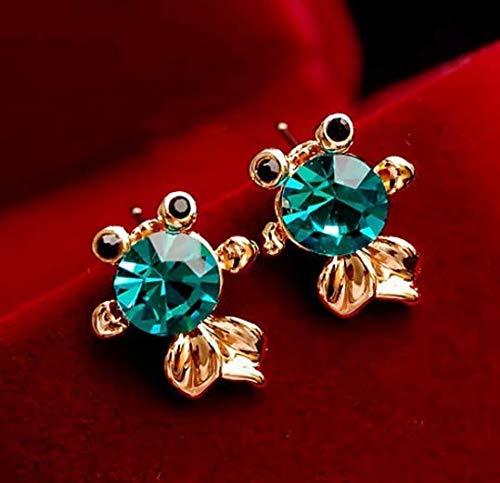 Fashion Stud Earrings Stainless Steel Needle Earrings