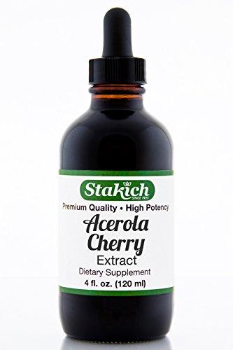 Stakich Acerola Cherry (Барбадосская вишня) 4 унции содержат спирта жидкий экстракт - высокое качество