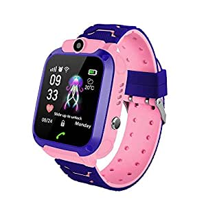 MOGOI Q12 Kids Smart Watch Phone para Niños Estudiante Niños ...