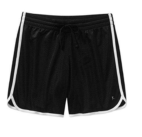 Danskin Womens Long Mesh Shorts (4X(26W), -
