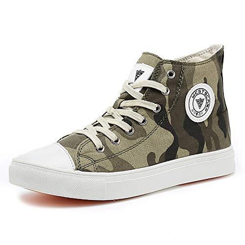 Suela Sneakers Army Round Zapatos Green Grey Toe Invierno Gray Otoño Ligera Mujer Canvas Zapatos de vulcanizados ZHZNVX P64wxqvYq