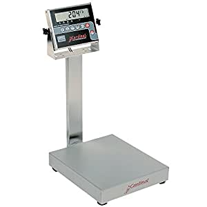 Cardinal Detecto EB-300-204 300 lb. Electronic Bench Scale with 204 Indicator, Legal for Trade
