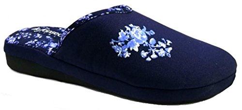 Bleu 38 Bleu EU de Femme Chaussons fonseca pour wxOIYRq