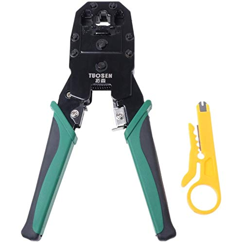 JPONLINE RJ45 RJ11 RJ12 Cat 5/5e Network LAN Cable Crimping Pliers Hand Tool For 4P 6P 8P #Aug.26 HIGHT QUALITY - - Amazon.com
