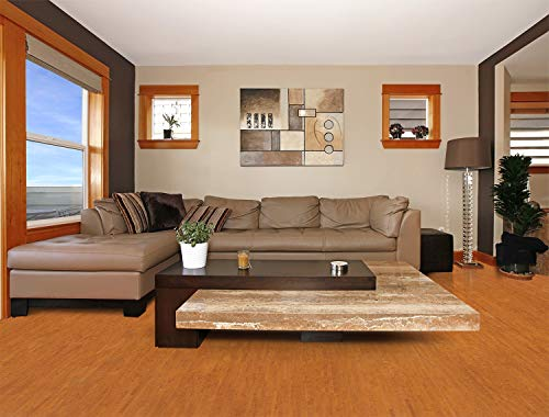 Best Flooring for Bedrooms - Forna 11mm Brown Birch Floating Cork 21sq.ft/box