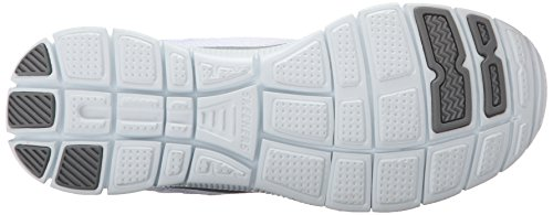 Skechers Flex Appeal - Obvious Choice, Zapatos para mujer Blanco (Blanco (WSL))