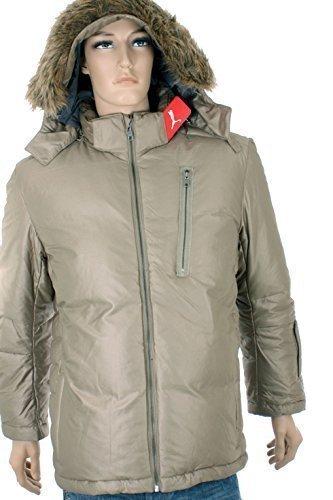 Puma para hombre joven de plumón para mujer chaqueta de invierno chaqueta con capucha: Amazon.es: Ropa y accesorios