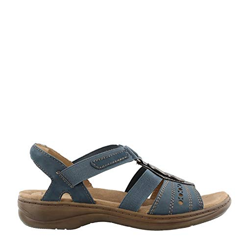Earth Origins Women's, Sasha Sandals Moroccan Blue 9 M