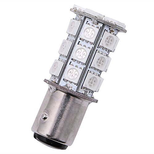 NNDA CO DC 12V 27 SMD 5050 Flash LED 1157 Car Tail Brake Stop Parking Signal Light Bulb ()