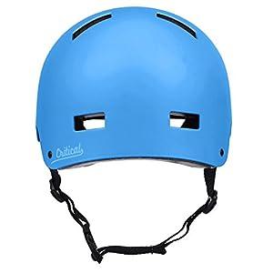 "Critical Cycles Classic Commuter Bike/Skate/Multi-Sport CM-1 Helmet with 10 Vents, Matte Sky Blue, Medium: 55-59 cm/21.75""-23.25"""