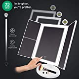 Makeup Mirror with Lights Vanity Mirror 72 LED