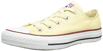 Converse All Star Ox Women Round Toe Canvas Ivory Sneakers