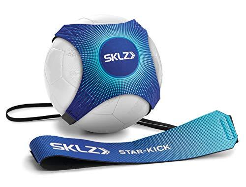 Sujetador de pelota para entrenamiento de futbol