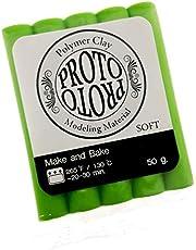 Polymer Clay Light Green Proto