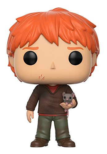 Funko Pop Movies: Harry Potter-Ron Weasley w/Scabbers (Pop Potter)
