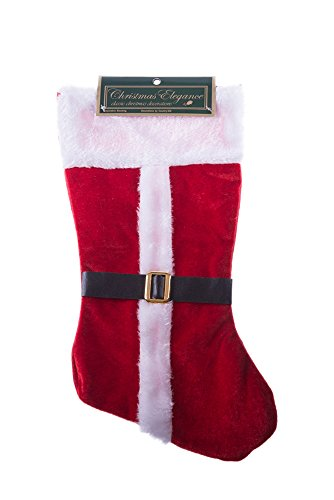 Christmas Classic Santa Coat and Buckle Stocking 15