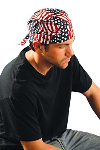 Tuff Nougies Tie Hats with Elastic Rear Band Tuff Nougies tie hat, FR Black