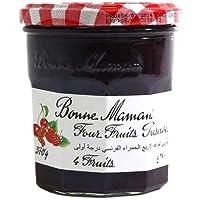 Bonne Maman Four Fruits Jam, 370 g