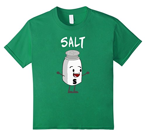 Costumes To Match With Your Boyfriend (Kids Salt and Pepper Shirts Matching Couple Halloween Costume 8 Kelly Green)