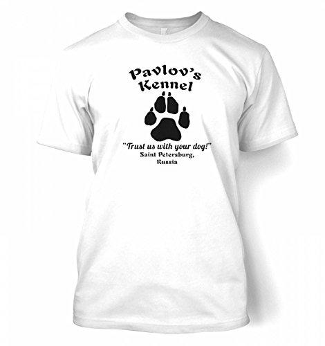 T-shirt Kennel - Pavlovs Kennel T-shirt - White Large (42/44