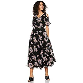 Buy Styleville Women's A-Line Midi Dress India 2021
