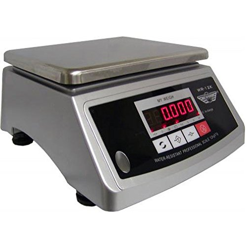 Washdown Digital Bench Scale - My Weigh WR-12K Digital Washdown Scale