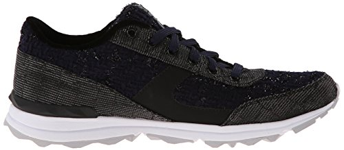 Edelman Sneaker Black Fashion Navy Dax Boucle Women's Sam daw4Id