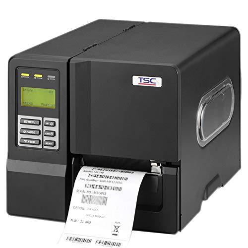 TSC ME 240 Barcode Label Printer 203 DPI 4 #34; Invoice Receipt Printing with 450M Ribbon Capacity