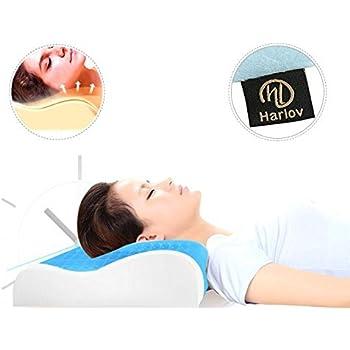 Amazon Com Harlov Contour Memory Foam Pillow With