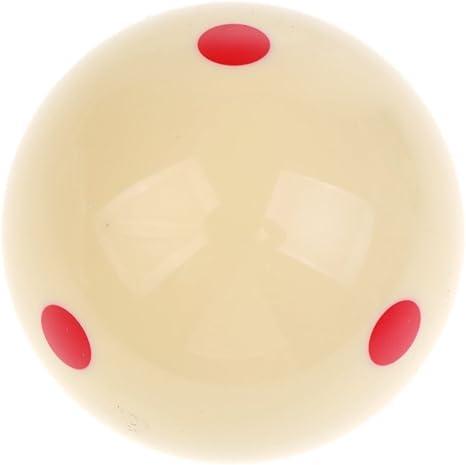 SGerste Bola de entrenamiento para billar de 6 puntos 52 mm ...
