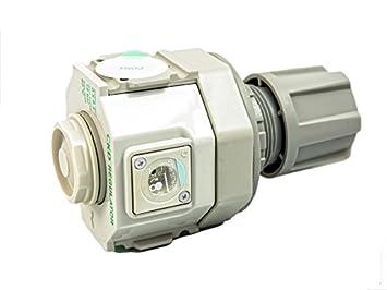 CKD R4000 filtro de aire regulador de presión de reductor de presión Manómetro 1/