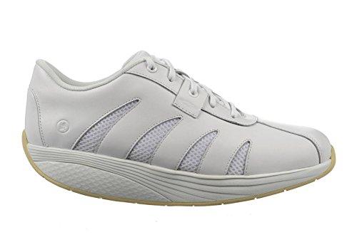 Mbt Vrouwen Afla Work Walking Shoe White