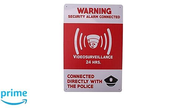 MARQUISE & LOREAN Carteles Alarmas Zonas Videovigilada ...