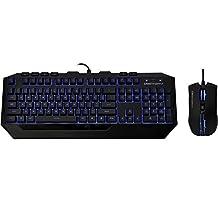 Cooler Master Storm Devastator - LED Gaming Keyboard and Mouse Combo Bundle (Blue Edition)