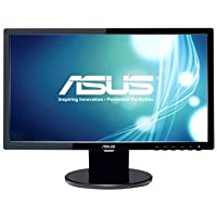 Asus VE208T 20 inch Widescreen 10,000,000:1 VGA/DVI LCD Monitor, w/ Speakers (Black)