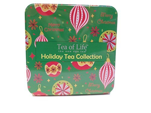 Tea of Life Holiday Tea Collection the New Age Tea in Metal Tin 120 bags