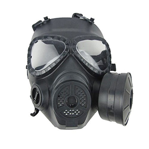 Zinnor Dummy Gas Mask Fan for CS Protection Zombie Soldiers Halloween Masquerade Resident Evil Antivirus Skull