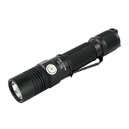 ThruNite-TC12-V2-Max-1100-Lumen-Micro-USB-Interface-Rechargeable-Tactical-LED-Flashlight-With-CREE-XP-L-LED-18650-Battery-Included