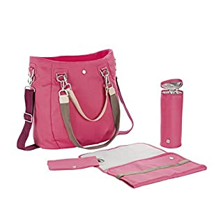 Lassig Women's Green Label Mix 'n Match Baby Diaper Bag, Strawberry