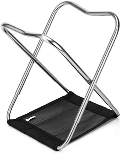 SCD Ultralight Aluminum Alloy Folding Stool Portable Folding Chair Fishing Chair Medium Outdoor Camping Fishing Walking Hunting Hiking Trip Folding chair