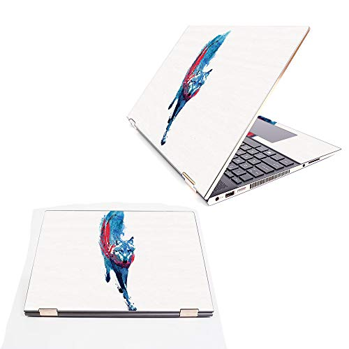 """MightySkins Skin Compatible with HP Spectre x360 15.6"""" (2018) - Fire and Ice 