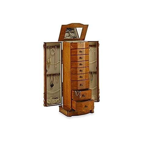 Amazon.com: Reliquia de Exquiste roble acabado joyería ...