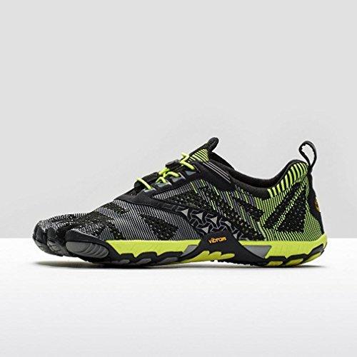 VIBRAM FiveFingersKMDEVO Chaussures de running Homme, Noir/Jaune, 43.5