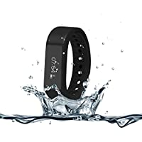 007Plus Fitness Pedometer Activity Wristband Key Pieces