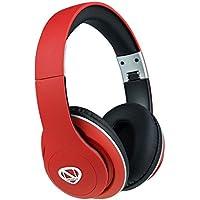 Ncredible1 Wireless Bluetooth Headphones (Red)