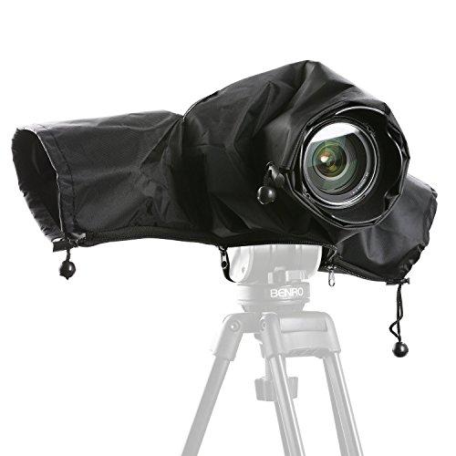 PUBAMALL Rain Cover Camera Protector a Prueba de Lluvia para Canon Nikon Sony Pentax y Otras cámaras réflex Digitales,...