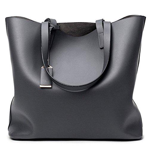 La Plein Noir Air Sac Mme Sacs Voyage Grey à Bandoulière Sacs De élégants à Mode Seau Main En Simple à wTxxqB01
