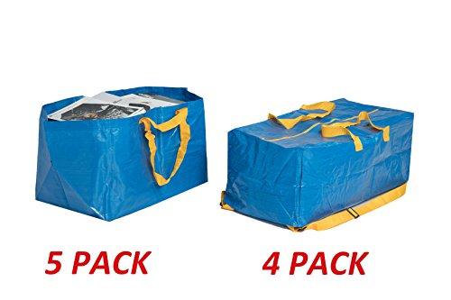Klickpick Home Reusable storage Laundry Shopping Moving Tote