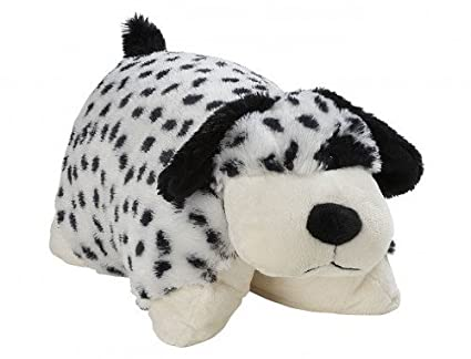 Amazon Com My Pillow Pet Dalmatian Large Black And White Toys
